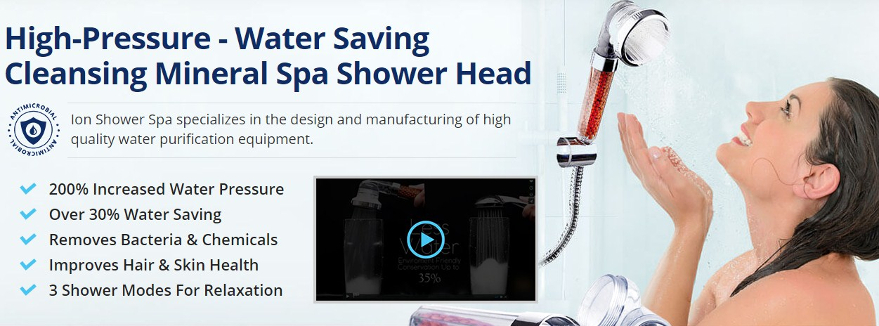 Ion Shower Spa