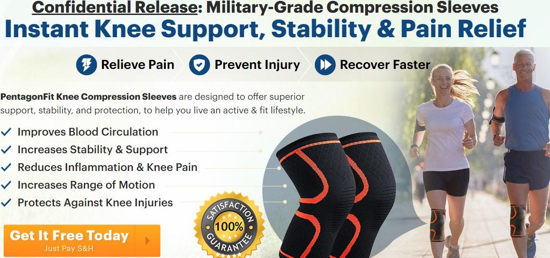 PentagonFit Knee Sleeves